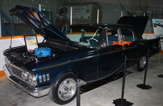 Cheryl Sinclair's 1961 Mercury Comet on display with other sweet cars and trucks in the 17th annual Rodarama put on by the Manitoba Street Rod Association at East End Arena in Transcona Apr 29 to May 1. PHOTO by Suzanne Hunter