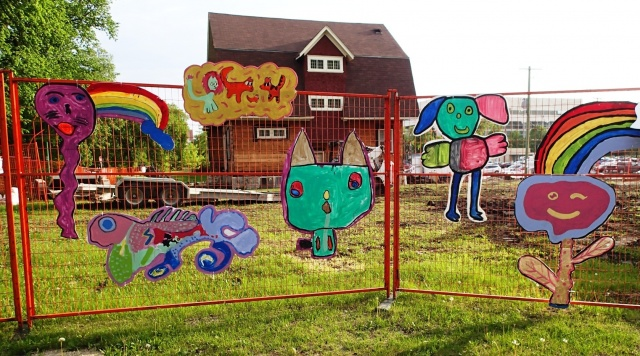 Can you guess? A new daycare under construction in Wolseley. PHOTO by Greg Petzold