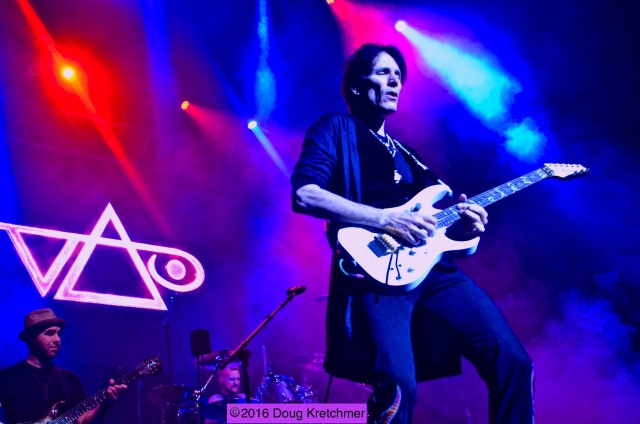Steve Vai's Passion and Warfare: 25th Anniversary Tour passionately conquered The Burt audience Saturday night. He played the album in its entirety along with a few other instrumentals. PHOTO by Doug Kretchmer