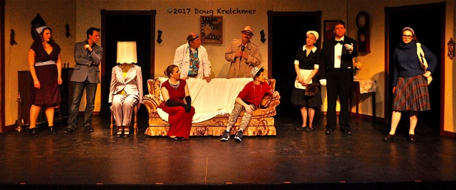 And Then There Was One (A Spoof) is a hilarious take on an Agatha Christie play. Shows daily @ 7:30 p.m. til the 25th with 2:30 p.m. shows on the 25th and 26th @ Forrest Nickerson Theatre, Deaf Centre MB, 285 Pembina Hwy. PHOTO by Doug Kretchmer