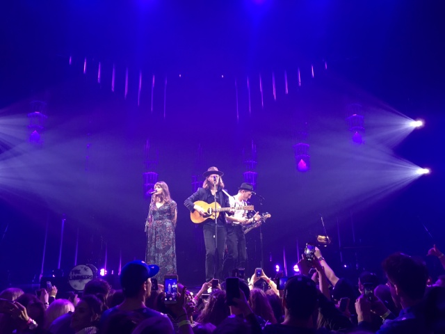 """The Lumineers played to enthusiastic fans at MTS Centre this week, on their """"Cleopatra World Tour 2017"""", continuing tonight in Saskatoon and tomorrow in Edmonton. PHOTO by Bee Erenberg"""