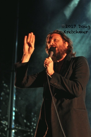 Father John Misty headlined the opening night of the Interstellar Rodeo which is on all weekend at the Forks. PHOTO by Doug Kretchmer