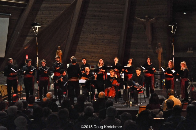 Camerata Nova perform Nova France with special guests Skye Consort from Montreal at Église Précieux-Sang (200 Kenny) for Festival du Voyageur Sat. night (2nd show today at 3pm) <br /><em> by Doug Kretchmer </em>