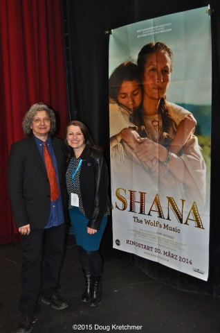 Producer Cynde Harmon and Director Nino Jacusso attend screening of their film at opening night of Freeze Frame International Film Festival For Kids of All Ages. Festival runs til Mar. 8 <br /><em>by Doug Kretchmer</em>