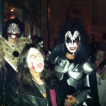 Zombie Ramone and Zombie Kiss take to the street.<br /><em>Submitted by Steve Raizen</em>
