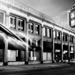 Black and white downtown Winnipeg.<br /><em>Submitted by Oliver Rupert</em>