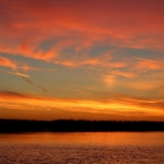 Autumn sunset over Netley Marsh.<br /><em>Submitted by Noah Erenberg</em>
