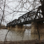 Old truss bridge.<br /><em>Submitted by Alyssa McDonald</em>
