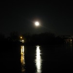 Moonlit river.<br /><em>Submitted by Oliver Rupert</em>