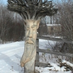 Wood carver's delight.<br /><em>Submitted by Brian Monkman</em>