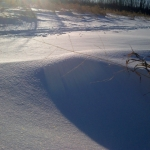 Snow dune.<br /><em>Submitted by Noah Erenberg</em>