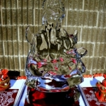 Ice-sculpted Ganesh.<br /><em>Submitted by Shankar Ghosh</em>