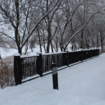 Bridges on a snowy day.<br /><em>Submitted by Noah Erenberg</em>
