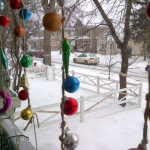 Holiday spirit still hanging on.<br /><em>Submitted by Alan Smith</em>