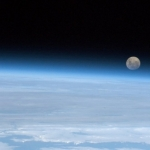 Full moon rising, so near, and yet...<br /><em>Tweeted by Chris Hadfield @Cmdr_Hadfield</em>