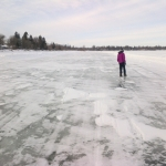 Frozen lake.<br /><em>Submitted by Noah Erenberg</em>
