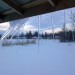 Winter's icy grip.<br /><em>Submitted by Noah Erenberg</em>
