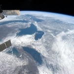 Canada's Great Lakes.<br /><em>Tweeted by Chris Hadfield @Cmdr_Hadfield</em>