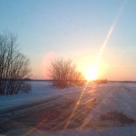 Spring sunset.<br /><em>Submitted by Bee Erenberg</em>