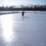 Backyard hockey rink.<br /><em>Submitted by Noah Erenberg</em>