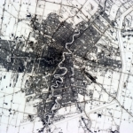 Winnipeg and its floodway as seen from space.<br /><em>Tweeted by Chris Hadfield @Cmdr_Hadfield</em>