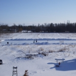 Little rink on the prairie.<br /><em>Submitted by Noah Erenberg</em>