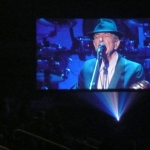 Leonard Cohen at MTS Centre.<br /><em>Submitted by C. Napper</em>