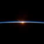 Spaceflight finale: To some this may look like a sunset. But it's a new dawn. .<br /><em>Tweeted by Chris Hadfield @Cmdr_Hadfield</em>