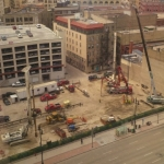 Construction starts on Portage + Main office tower.<br /><em>Submitted by LuAnn Lovlin</em>