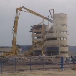 Out with the old: Canad Inns Stadium demolished.<br /><em>Submitted by Noah Erenberg</em>