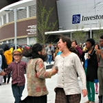 In with the new...Investors Group Field opens.<br /><em>Submitted by Sangeetha Nair</em>