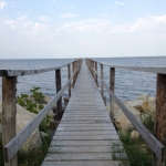 Pier on Lake Winnipeg.<br /><em>Submitted by Noah Erenberg.</em>
