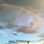 Full rainbow.<br /><em>Submitted by Nancy Mak</em>