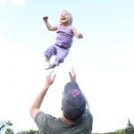 Flying baby.<br /><em>Submitted by Stacy Cardigan Smith</em>