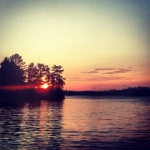 Lake sunset.<br /><em>Submitted by Morgan Hamp</em>