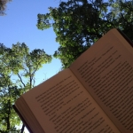 Summer reading.<br /><em>Submitted by Bee Erenberg</em>