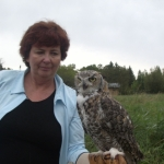 My pal the owl.<br /><em>Submitted by Connie Smith</em>