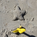 Sandy star at Patricia Beach<br /><em>Submitted by Jennifer Larrazabal</em>
