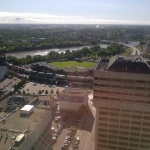 Beautiful summer morning in downtown Winnipeg.<br /><em>Submitted by Noah Erenberg</em>