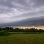 Approaching storm.<br /><em>Submitted by Noah Erenberg</em>