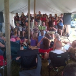The sound of 30 ukeleles at Matlock Festival.<br /><em>Submitted by Noah Erenberg</em>