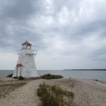 Lighthouse at Hecla Island.<br /><em>Submitted by Bee Erenberg</em>