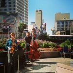 WSO Jazz Ensemble at Portage and Main.<br /><em>Submitted by Jay Booth</em>