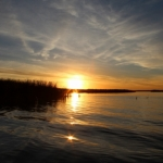Fall sunset on Netley Marsh.<br /><em>Submitted by Charlie McPherson</em>