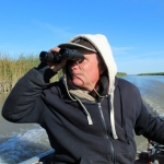 Autumn bird count on Netley Marsh.<br /><em>Submitted by Noah Erenberg</em>