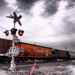 Morning train.<br /><em>Submitted by Karina Cardona Claros</em>