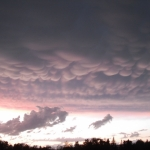 Clouds before the storm.<br /><em>Submitted by Noah Erenberg.</em>