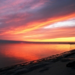October sunrise.<br /><em>Submitted by Rose Flaig</em>