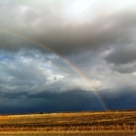 Autumn rainbow.<br /><em>Submitted by Rose Flaig</em>
