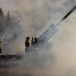 21 gun salute.<br /><em>Submitted by Sara Shyiak</em>